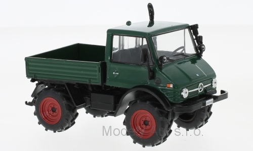 Mercedes Unimog 406 - 1977 1:43 - WhiteBox časopis s modelem