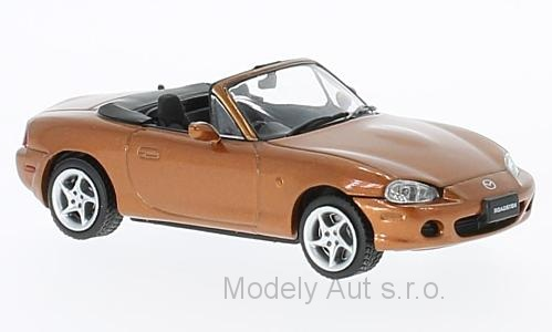 Mazda MX-5 Roadster - 2001 1:43 - First 43 Models časopis s modelem