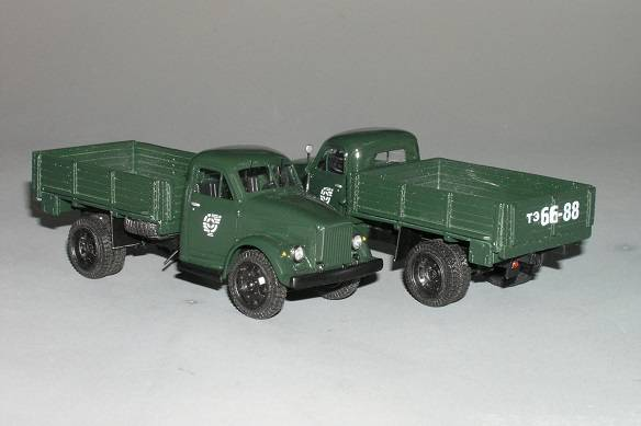GAZ 51 - Vector models