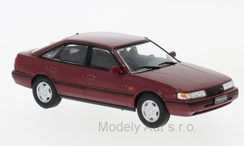 Mazda 626 - 1990 1:43 - WhiteBox časopis s modelem