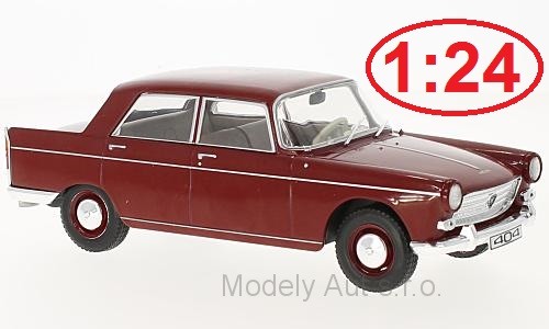 Peugeot 404 - 1960 1:24 - WhiteBox časopis s modelem