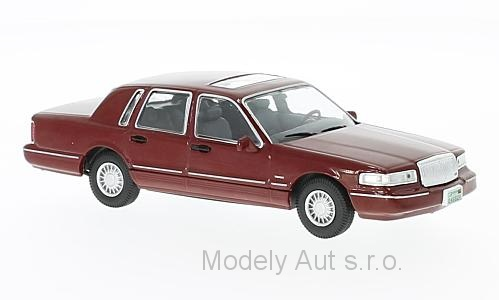 Lincoln Town Car - 1996 1:43 - WhiteBox časopis s modelem