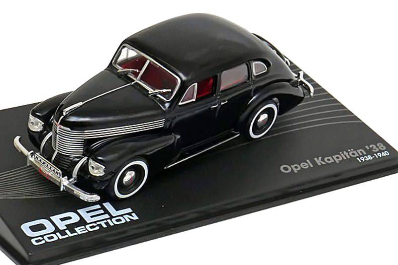 Opel Kapitan '38 1:43 Opel collection časopis s modelem
