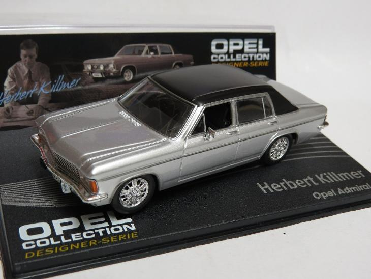 Opel Admiral B 1:43 Opel collection časopis s modelem