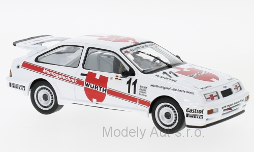 Ford Sierra RS Cosworth, No.11 1:43 - 1987 - IXO časopis s modelem