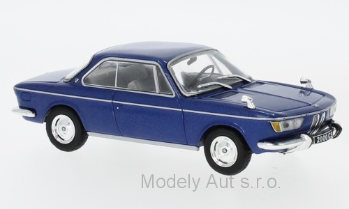 BMW 2000 CS - 1966 1:43 - WhiteBox - časopis s modelem