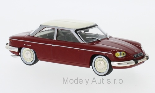 Panhard 24 BT - 1964 1:43 WhiteBox časopis s modelem