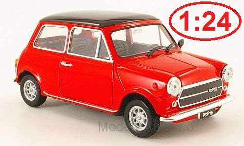 Mini Cooper 1300 - 1974 1:24 - Welly časopis s modelem