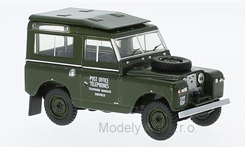 Land Rover Series II SWB Hard Back RHD 1:43 - Oxford časopis s modelem