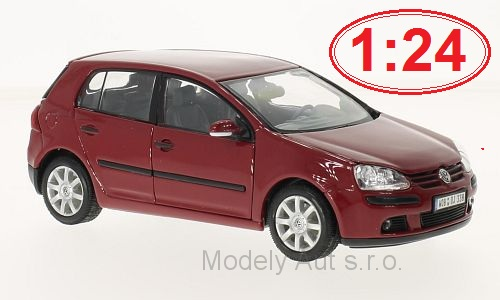 VOLKSWAGEN Golf V 1:24 2004 - Welly časopis s modelem