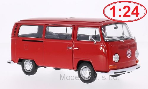 VW T2 Bus - 1972 1:24 - Welly časopis s modelem