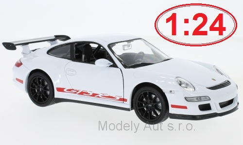 Porsche 911 (997) GT3 RS 1:24 - Welly časopis s modelem