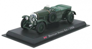 Bentley Speed Six - 1926 1:43 - Legendární automobily časopis s modelem