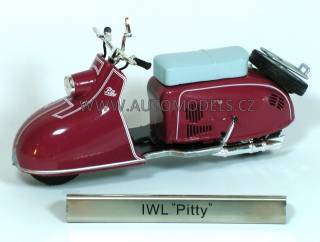 IWL PITTY 1:24 - East European Motorbikes