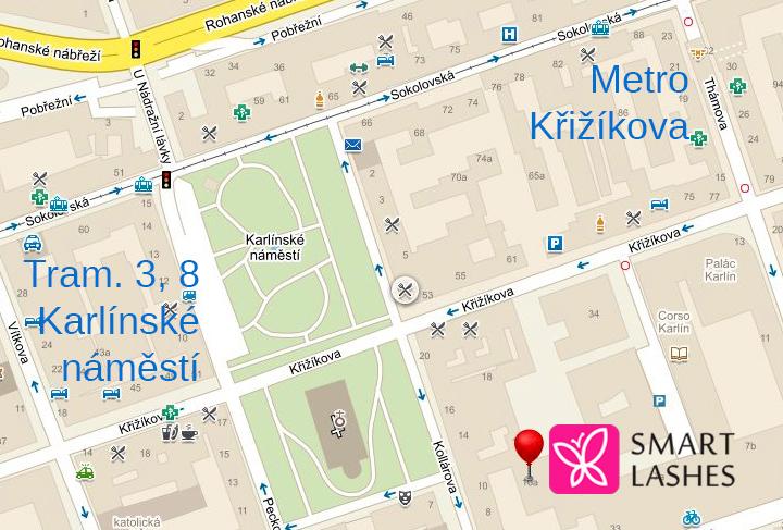 Mapa automodels.cz